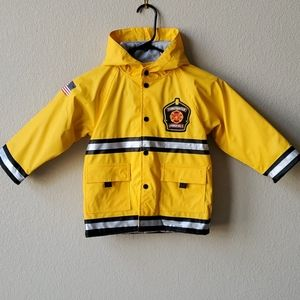 Western Chief boys yellow firefighter coat 3T